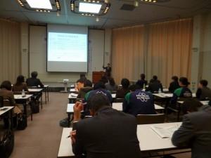 宮島先生の講演