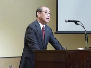 講演される浅田会長